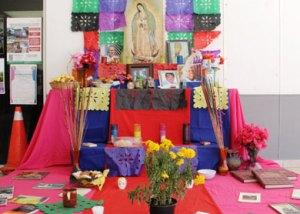 altar en Palacio Municipa