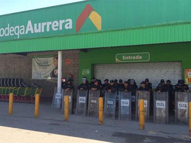 Blindan comercios de Chilpancingo