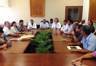 Se reunió el Comité de la Lucha contra el Dengue
