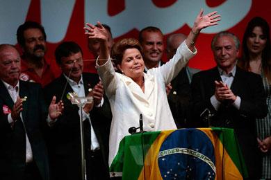 Ganó Dilma