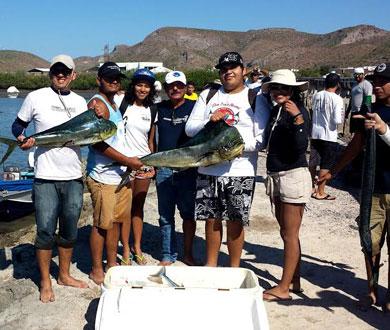 Realizan Torneo de Pesca Deportiva