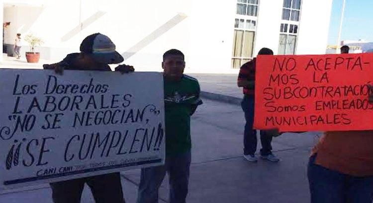 Recontratará Ayuntamiento paceño a ex trabajadores de Zofemat