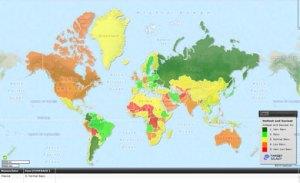 mapa mundi de la belleza