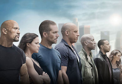 Fast & Furious 7, inalcanzable en taquilla