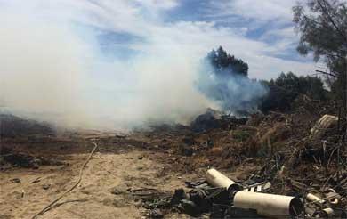 Alerta de incendio moviliza cuerpos de emergencia