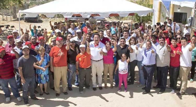 Se reunió Narciso Agúndez con micro empresarios y profesionistas