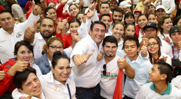 El campo, prioridad para Ricardo Barroso