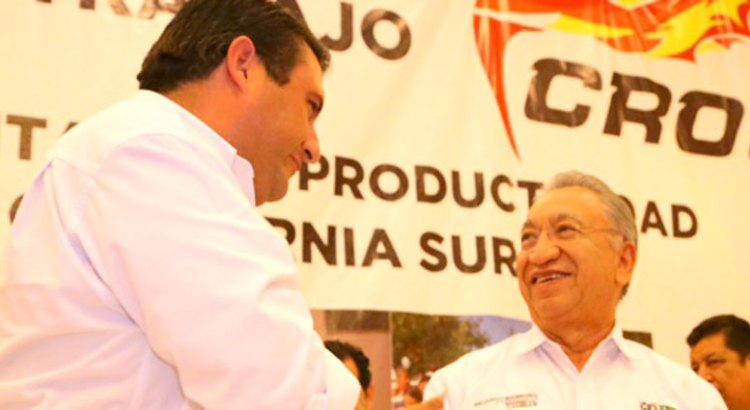 Da la CROC su respaldo a Ricardo Barroso