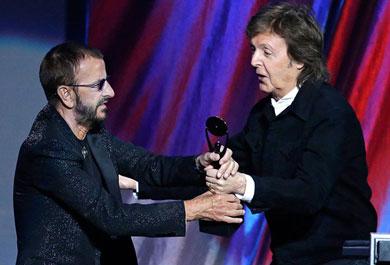 Ringo ya está en el Salón de la Fama