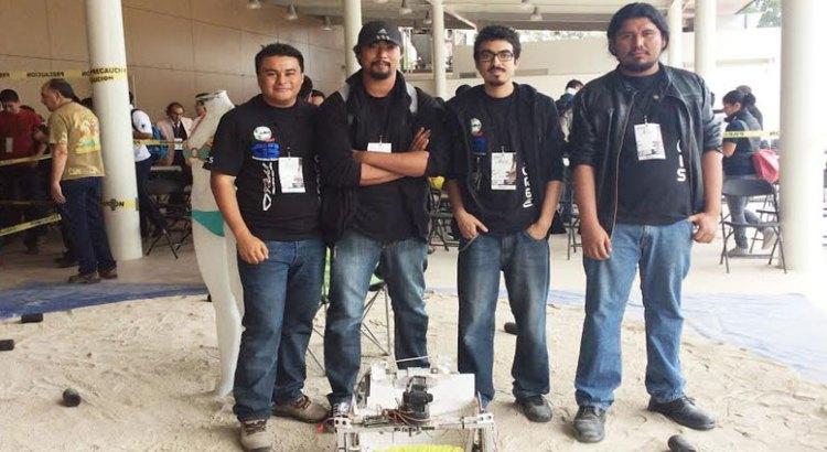 UABCS, campeona en el Torneo Mexicano de Robótica 2015