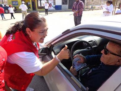 Visita Sandra Elizarrarás Bahía Tortugas
