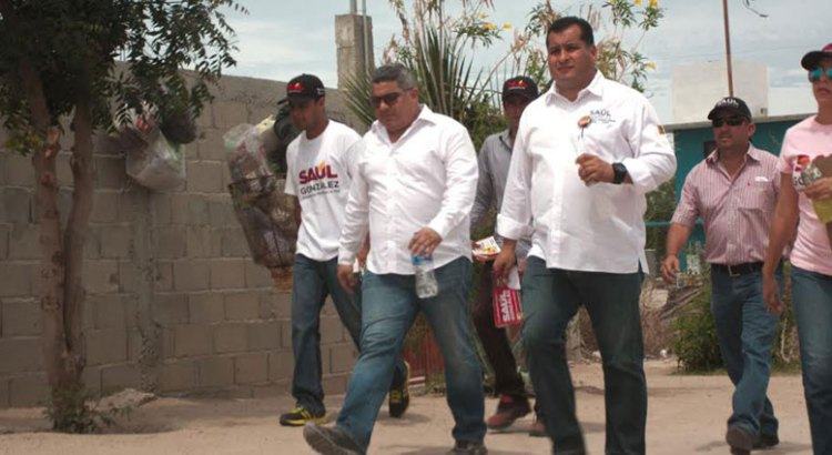 Alumbrado y seguridad pública, prioridades para Saúl González