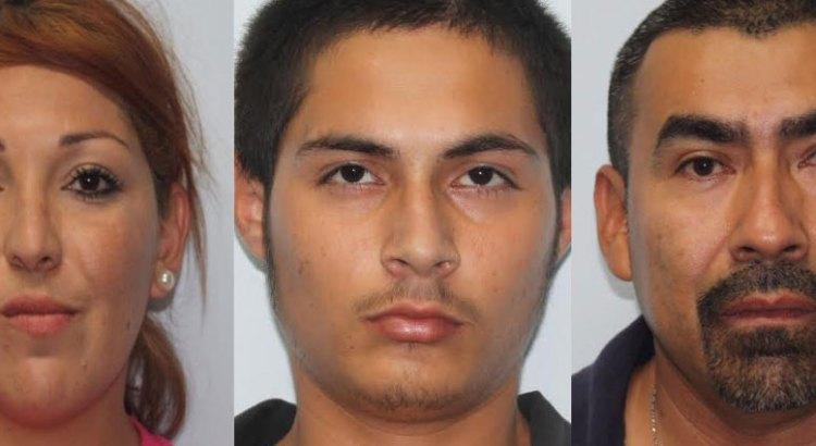 Sorprendieron a 3 adultos y una menor con droga