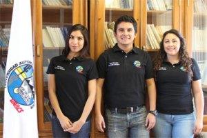 Niza Barbosa Lizárraga, Jorge Luis Douglas Guevara y Stephany Romo