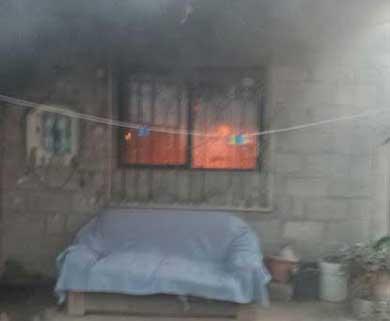 Consumieron las llamas humilde vivienda