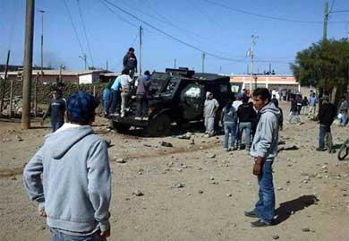 Dejan revueltas en San Quintín 30 detenidos