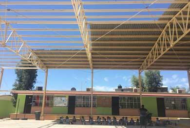 Piden reparación de techumbres en Escuela Ejido San José