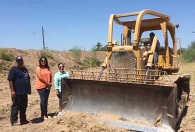 Limpian cauce de arroyo en Ciudad Constitución