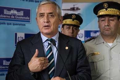 Se ampara Presidente de Guatemala