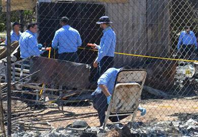 Intencional el incendio en asilo de Mexicali