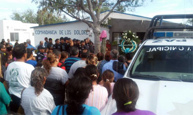 Ultimo adiós a policía municipal