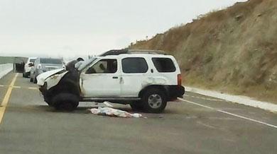 Sangre en la carretera
