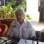 Clicerio Mercado, coordinador del Torneo.