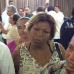 Amando Martínez Vega fue increpado por trabajadores del Ayuntamiento paceño.