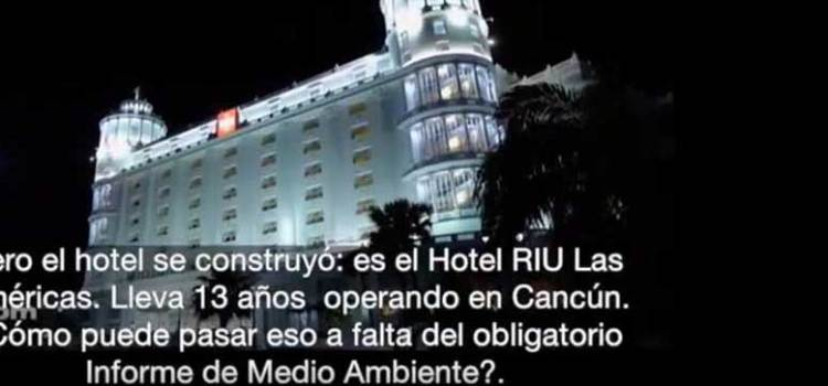 Demoledor reportaje sobre turoperador TUI / Hoteles RIU en TV alemana