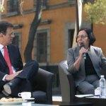 Marcelo Ebrard y Moreno Toscano.