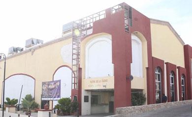 Listo este año el Teatro municipal