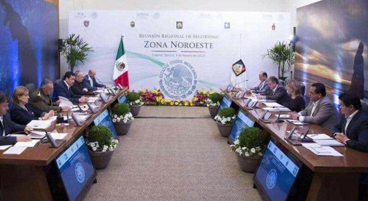Asistió el Gobernador a la Reunión de Seguridad Zona Noroeste