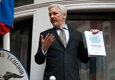 Pide ONU liberación inmediata del fundador de WikiLeaks
