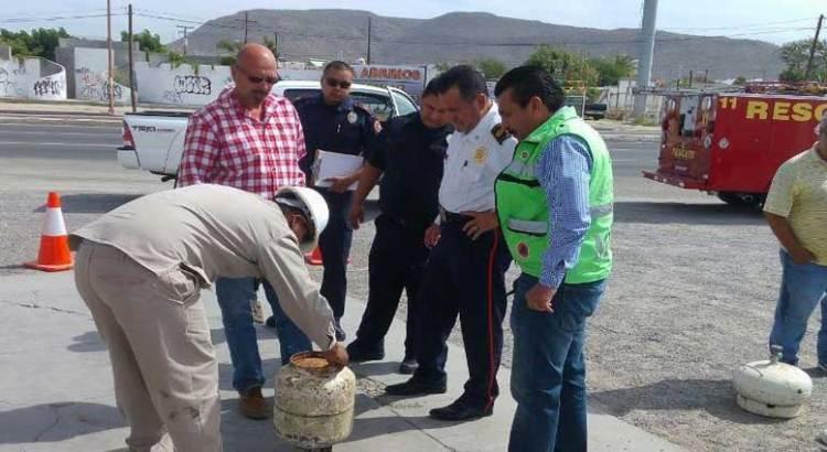 Supervisa Protección Civil a distribuidoras de gas