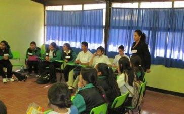 Ofrecen pláticas  sobre prevención  de embarazos en jóvenes