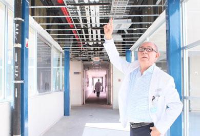 Rehabilitan el sistema de tuberías del Salvatierra