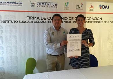 Firma ISJ convenio de colaboración con Instituto de la Juventud cabeño