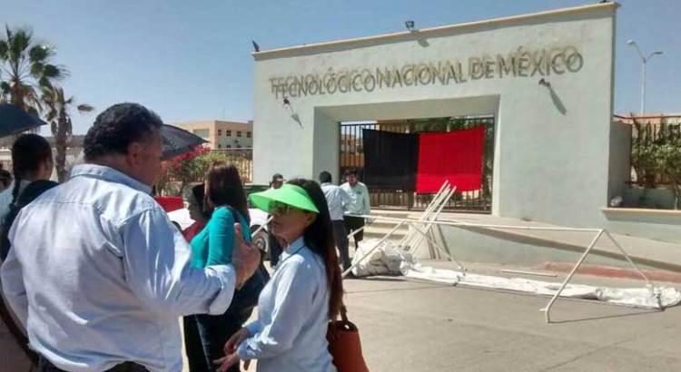 Estalló la huelga en el ITES Los Cabos
