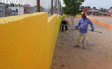 Lleva Servicios Públicos 30 parques rehabilitados