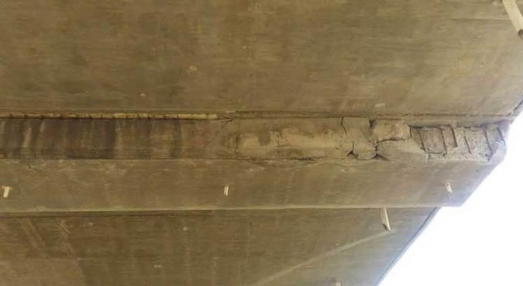 Esta semana repararán el puente de la 8