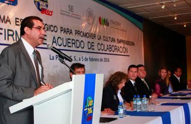 Firman Convenio INADEM y UABCS