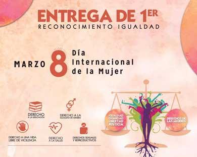 Darán premio Igualdad 2016