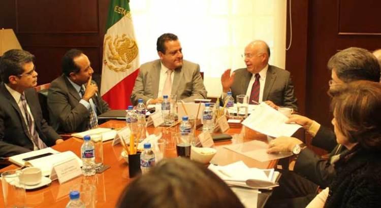 Se reunió el Gobernador con el secretario de Salud, José Narro Robles