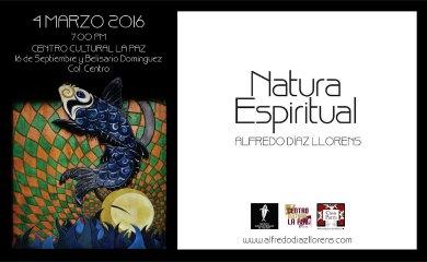 Natura Espiritual  en el Centro Cultural La Paz