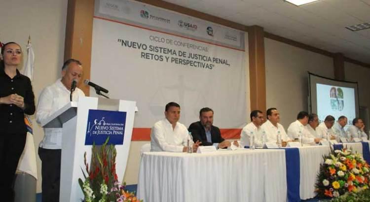 Inauguraron ciclo de conferencias sobre el NSJP