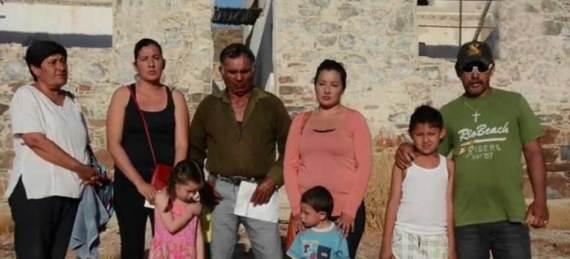 """familias de la cooperativa pesquera """"Punta Lobos"""""""