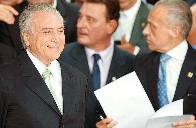 """Quiere Temer """"recuperar la credibilidad de Brasil"""""""