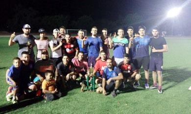 Concluye torneo de fútbol en Zona Norte