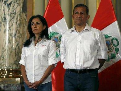 Prohíben salir de Perú a primera dama