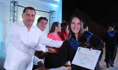 Graduación en el COBACH 02 SJC